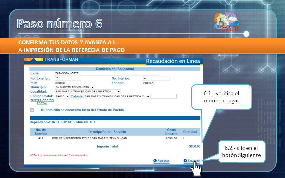LEER CON CUIDADO LAS ESPECIFICACIONES QUE OFRECE EL PORTAL DE LA SECRETARÍA DE FINANZAS Y ADMINISTRACIÓN 7.1.- Clic en imprimir orden