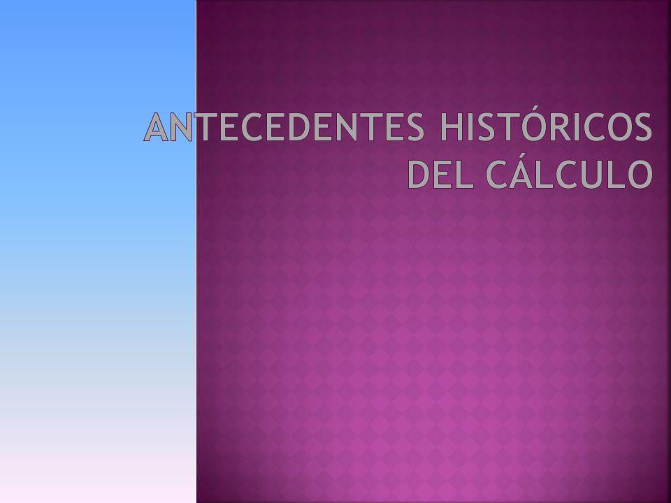El Cálculo Infinitesimal es la rama de las matemáticas que comprende el estudio y aplicaciones del Cálculo Diferencial e Integral.