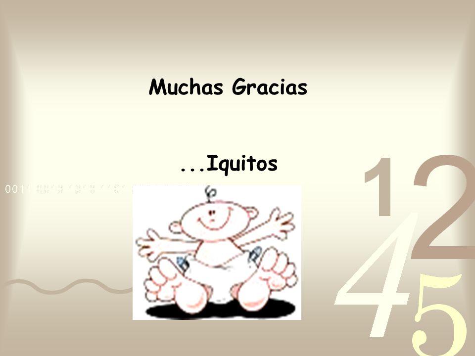Muchas Gracias...Iquitos