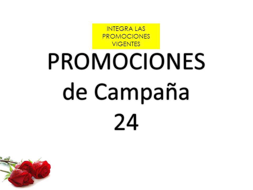 PROMOCIONES de Campaña 24 INTEGRA LAS PROMOCIONES VIGENTES