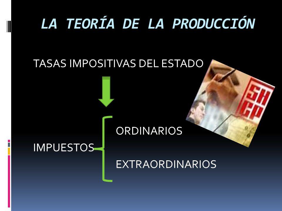 TEORÍA DE LA PRODUCCIÓN PRODUCTO MARGINAL Se refiere al incremento del producto total a cada nivel de producción, como consecuencia de utilizar una unidad adicional de factor variable.