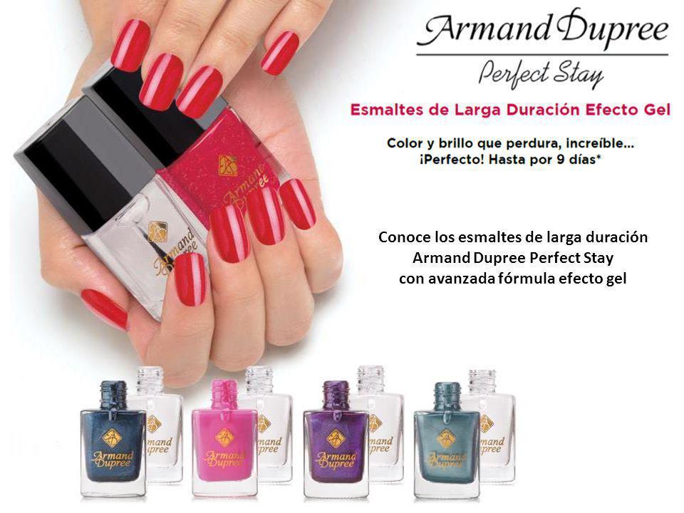 Conoce los esmaltes de larga duración Armand Dupree Perfect Stay con avanzada fórmula efecto gel