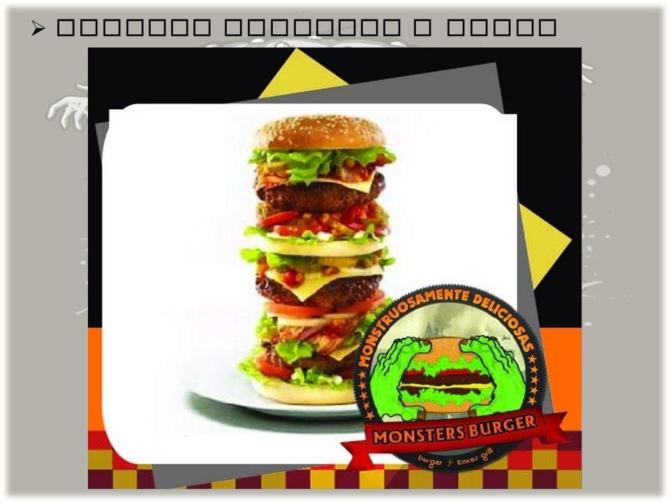 EL TIPO DE PRODUCTO O SERVICIO QUE OFRECEMOS Es un restaurante dedicado a la venta de hamburguesas y, bebidas postres, pizzas, salchichas, papas, con