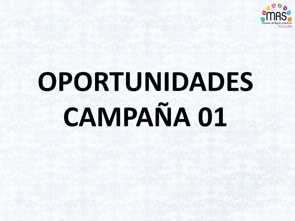 OPORTUNIDADES CAMPAÑA 01