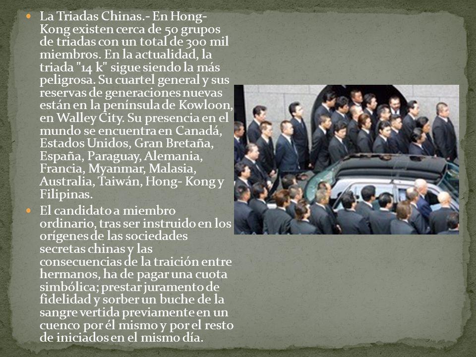 La Yakuza Japonesa.- Hablar de la Yakuza es hablar del emporio mafioso más grande hoy día.