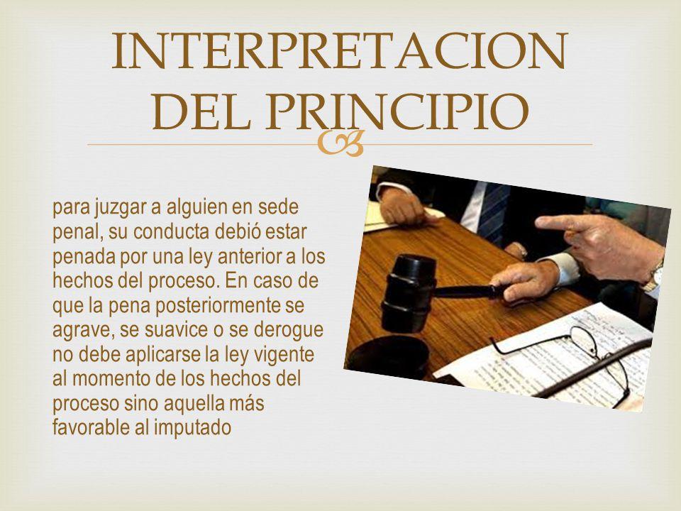 PRINCIPIO DE PRESUNCIÓN DE INOCENCIA es un logro del derecho moderno, mediante el cual todo inculpado durante el proceso penal es en principio inocente sino media sentencia condenatoria.