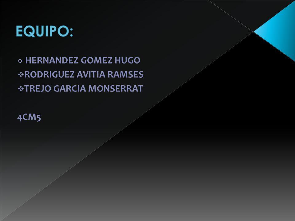 HERNANDEZ GOMEZ HUGO RODRIGUEZ AVITIA RAMSES TREJO GARCIA MONSERRAT 4CM5