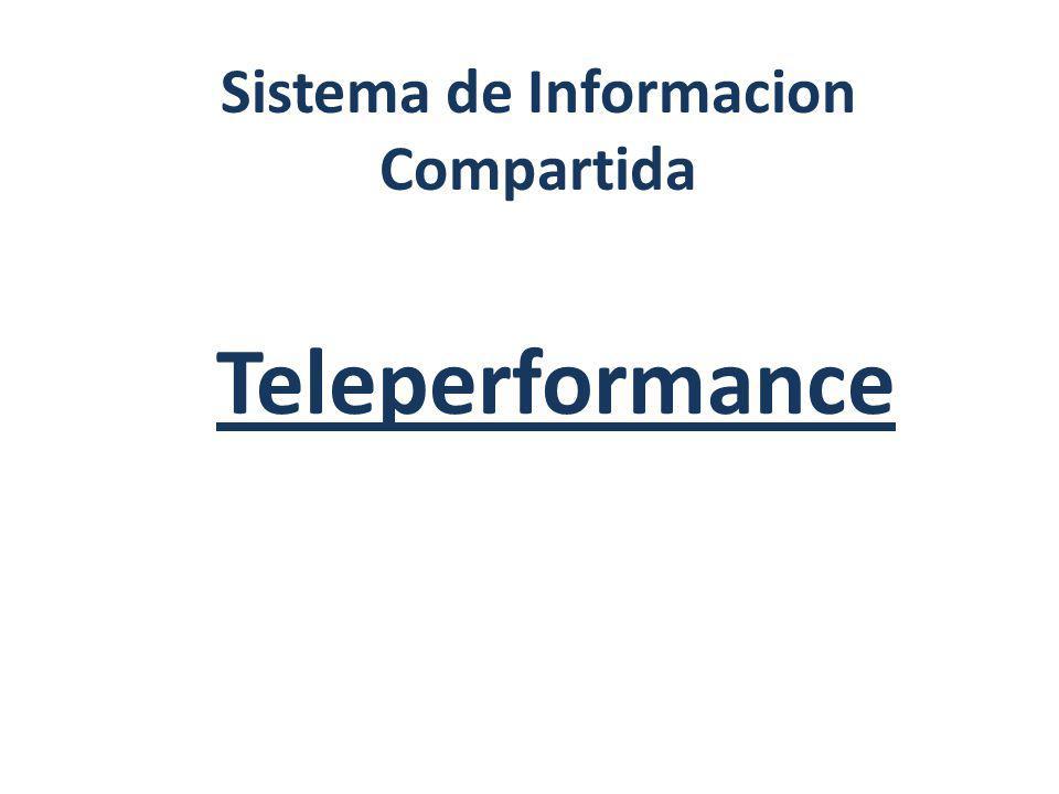 Intranet El sistema de informacion compartida dentro de la empresa teleperformance, es mediante un sistema de red virtual el cual se denomina Intranet, siendo esta un espacio virtual en el cual se le otorga acceso o bien llamados Privilegios a los diferentes usuarios de la empresa para hacer uso de la misma.