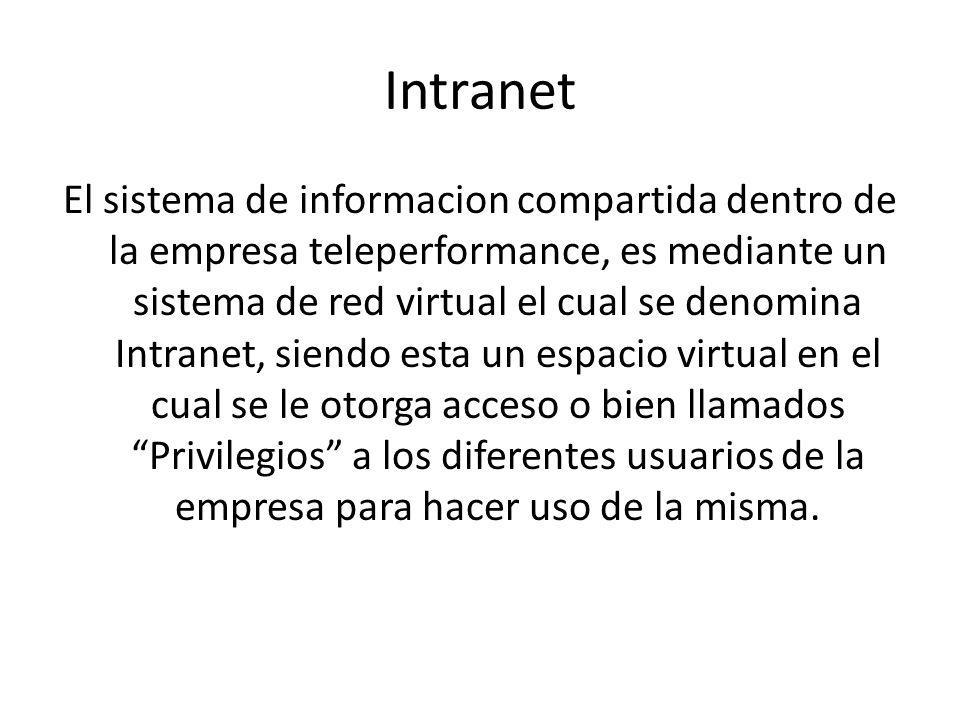 Definicion: Red de ordenadores privada basandose en los estandares de internet, utilizando tecnologias para enlazar recursos informativos de una organizacion, desde documentos de texto a documentos multimedia, los cuales pueden incluir sistemas de seguridad y motores de busqueda.