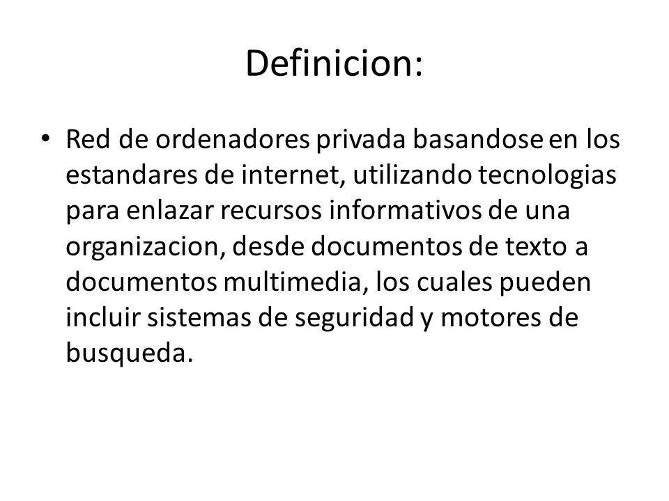 Como Funciona la Intranet La intranet basicamente es un disco duro almacenado virtualmente en todas las computadoras de la empresa, para accesar a la misma se accede mediante Mi Computadora como si se fuera a accesar el disco duro fisico de la maquina, tal como lo muestra la siguiente diapositiva: