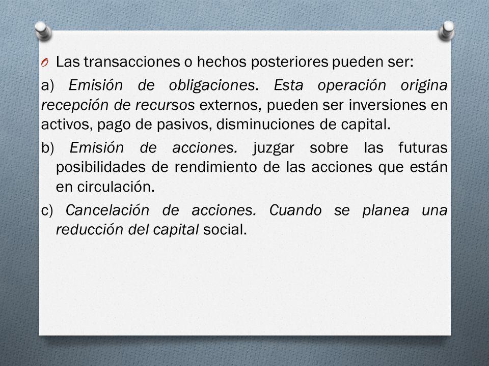 d) Fusión de sociedades.
