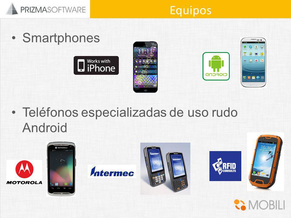 Smartphones Teléfonos especializadas de uso rudo Android Equipos