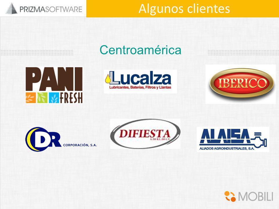 Algunos clientes Centroamérica