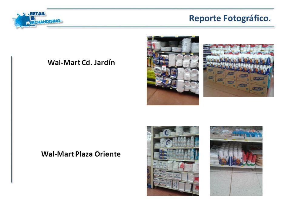 Wal-Mart Cd. Jardín Reporte Fotográfico. Wal-Mart Plaza Oriente