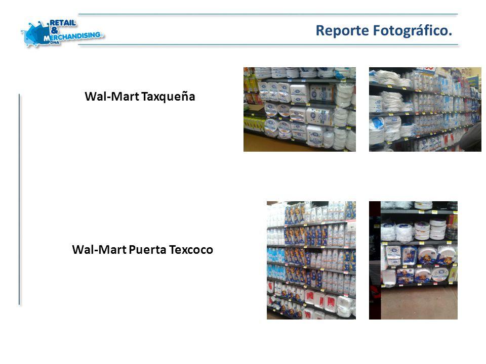 Wal-Mart Taxqueña Reporte Fotográfico. Wal-Mart Puerta Texcoco