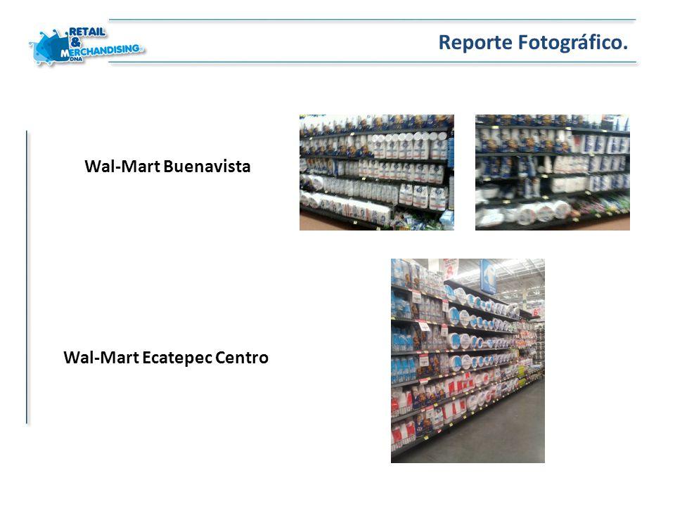 Reporte Fotográfico. Wal-Mart Buenavista Wal-Mart Ecatepec Centro