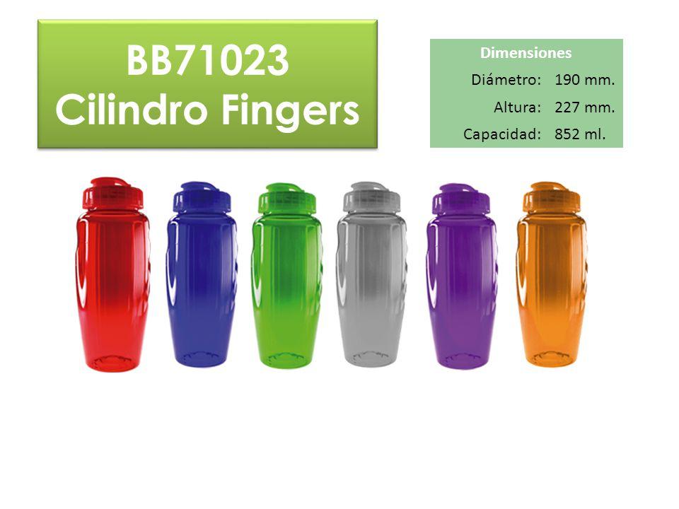 BB71023 Cilindro Fingers BB71023 Cilindro Fingers Dimensiones Diámetro:190 mm. Altura:227 mm. Capacidad:852 ml.