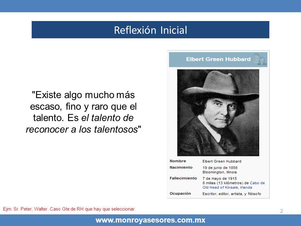 13 La dinámica de la administración del conocimiento www.monroyasesores.com.mx 1.