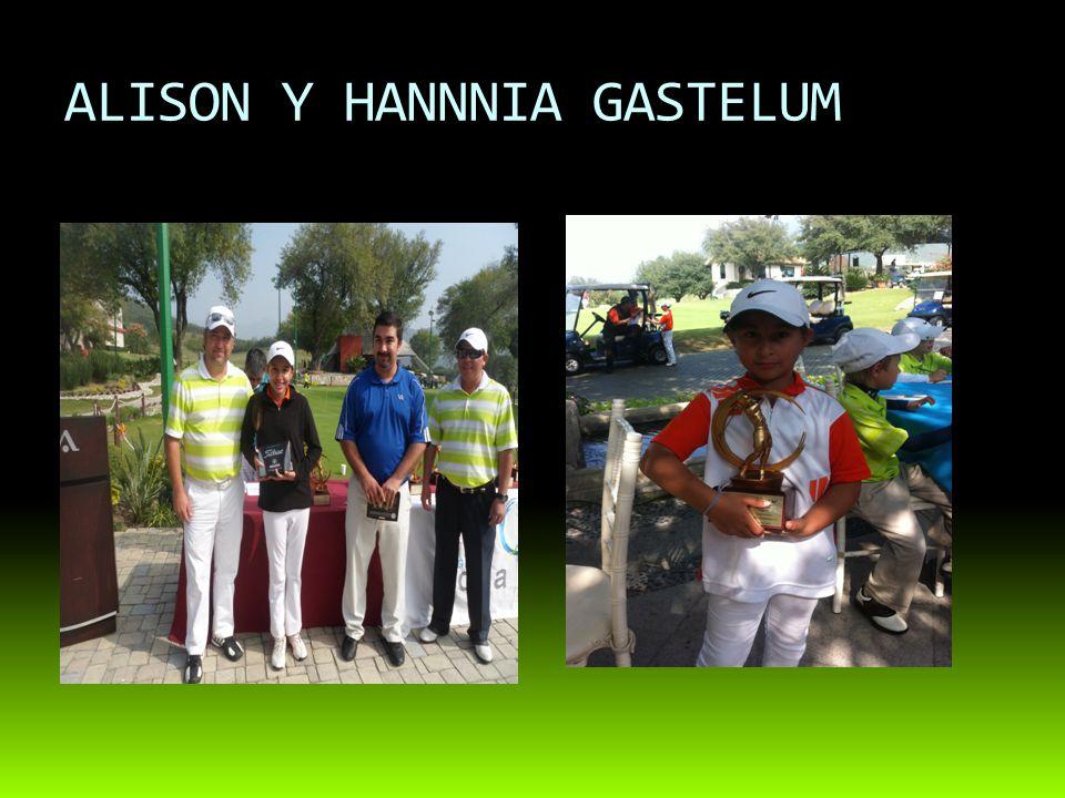 ALISON Y HANNNIA GASTELUM