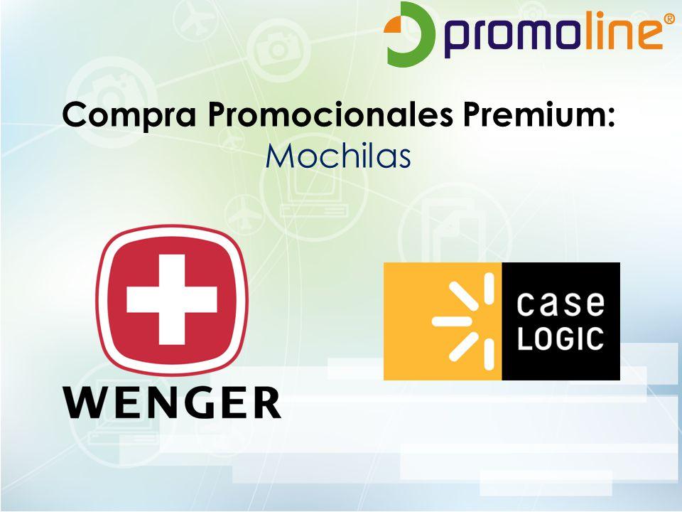 Compra Promocionales Premium: Mochilas