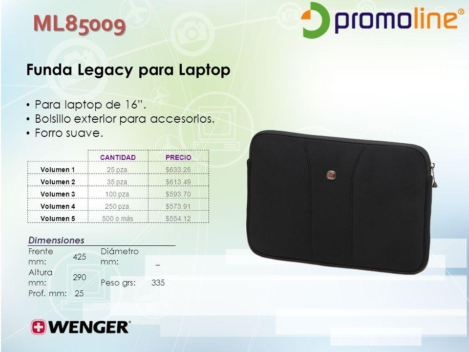 ML85009 Funda Legacy para Laptop Para laptop de 16.