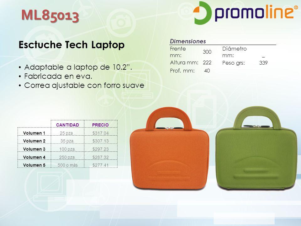 ML85013 Esctuche Tech Laptop Adaptable a laptop de 10.2.