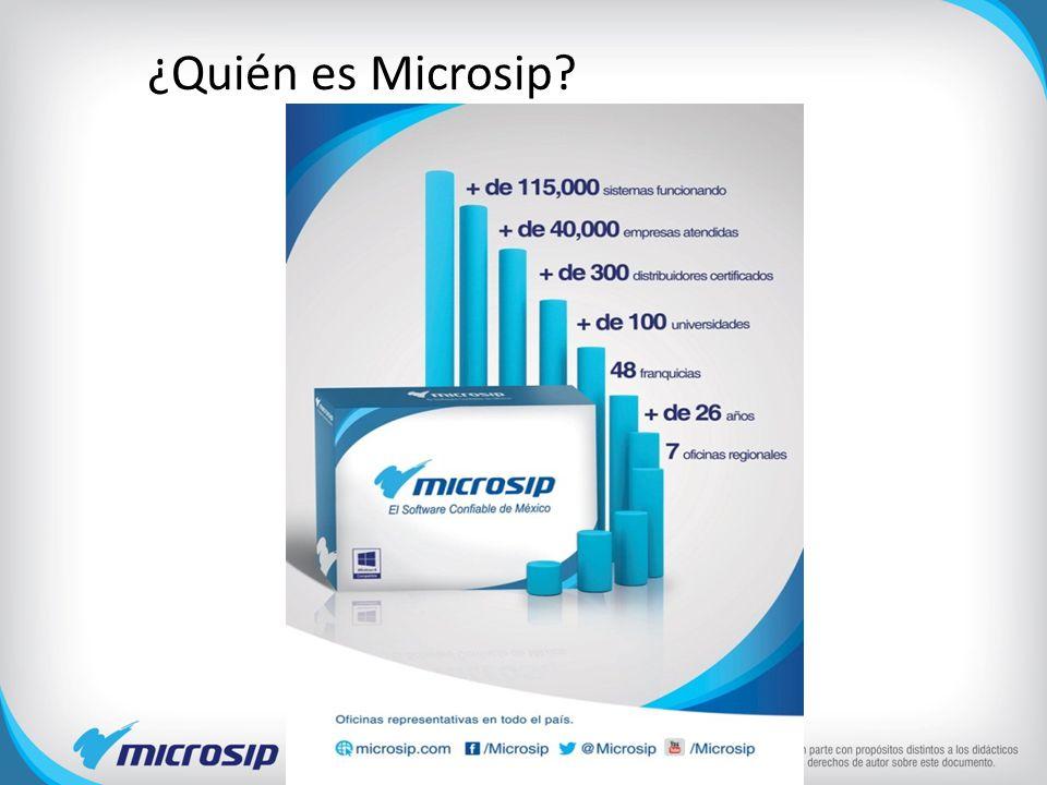 ¿Quién es Microsip?
