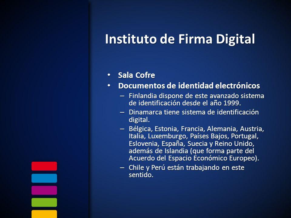 Sala Cofre Sala Cofre Documentos de identidad electrónicos Documentos de identidad electrónicos – Finlandia dispone de este avanzado sistema de identificación desde el año 1999.