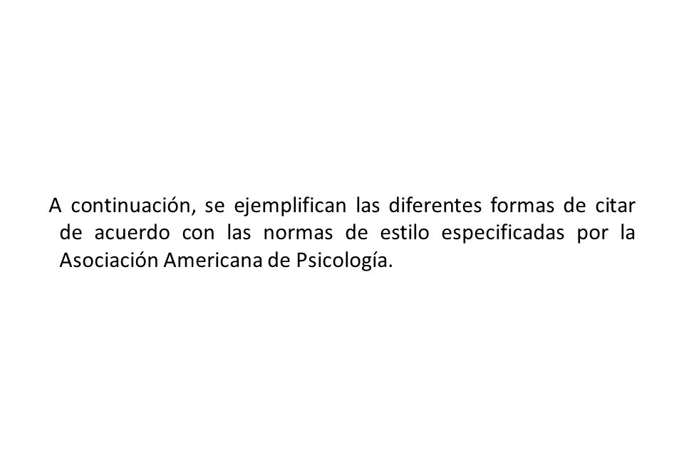 American Psychological Association (2005).Manual de estilo de publicaciones.