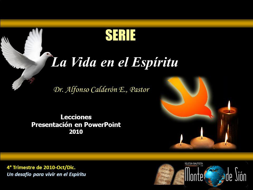 z Lecciones Presentación en PowerPoint 2010 4° Trimestre de 2010-Oct/Dic.