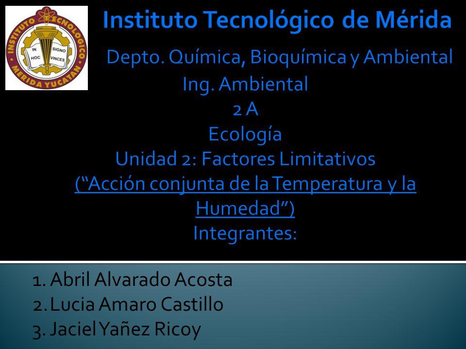 1.Abril Alvarado Acosta 2.Lucia Amaro Castillo 3.Jaciel Yañez Ricoy
