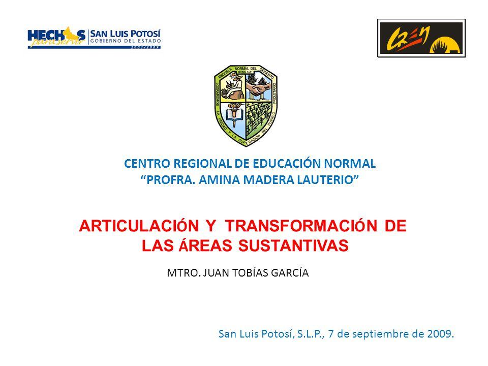 CENTRO REGIONAL DE EDUCACIÓN NORMAL PROFRA.