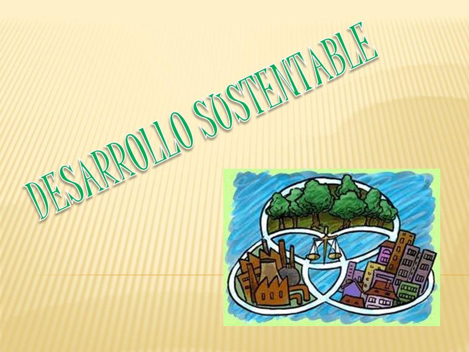 El desarrollo sustentable Garantiza a la Población una calidad de vida digna Ya que genera: Respeto a los Derechos Humanos.