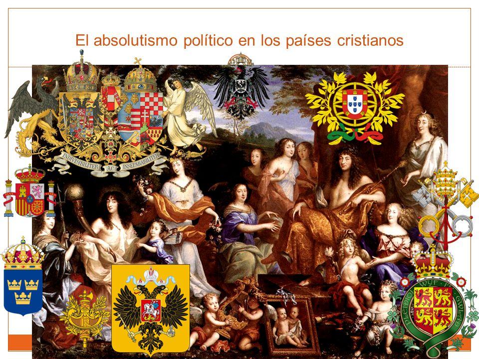 El absolutismo político en los países cristianos