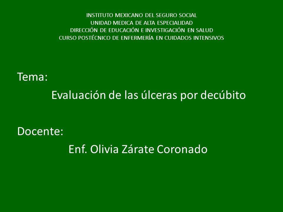 INSTITUTO MEXICANO DEL SEGURO SOCIAL UNIDAD MEDICA DE ALTA ESPECIALIDAD DIRECCIÓN DE EDUCACIÓN E INVESTIGACIÓN EN SALUD CURSO POSTÉCNICO DE ENFERMERÍA
