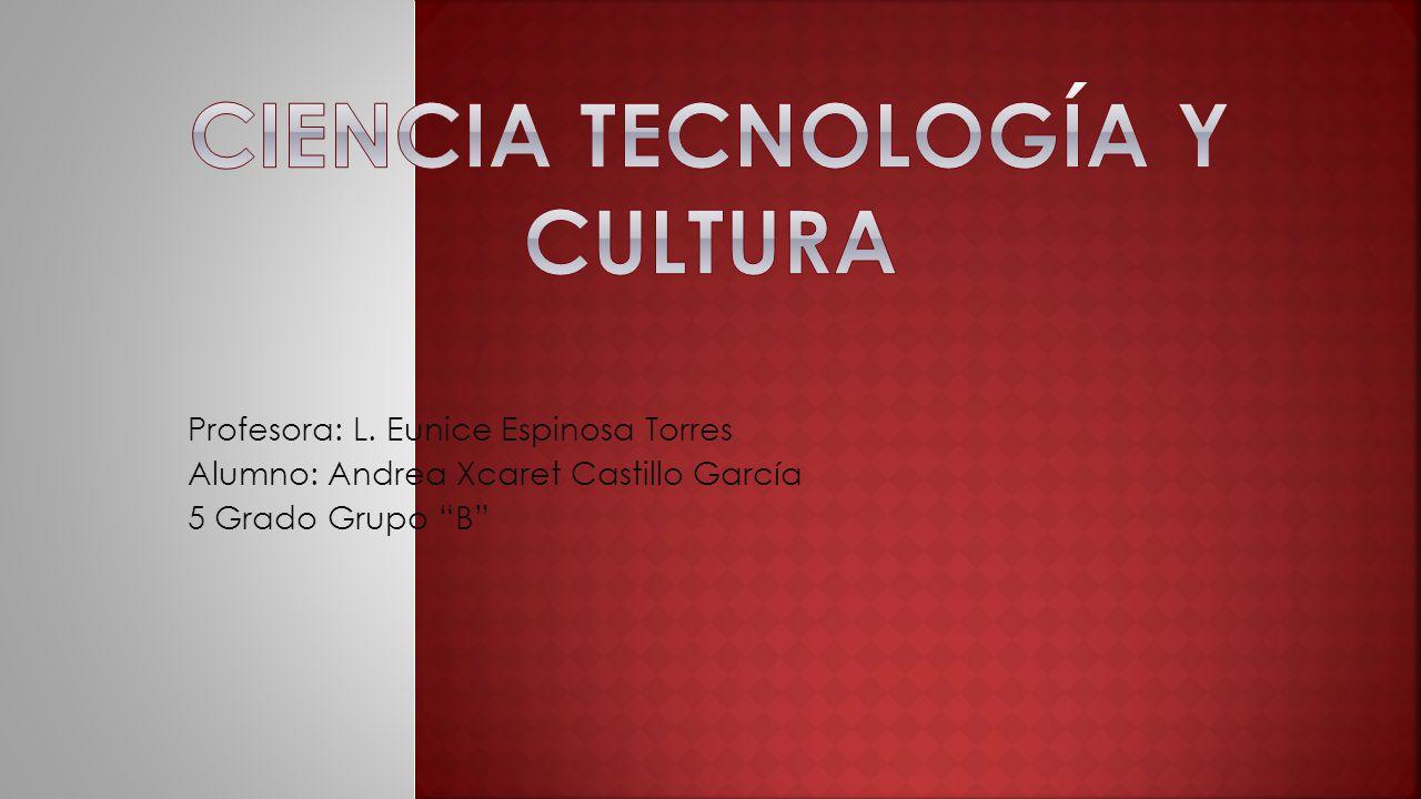 Profesora: L. Eunice Espinosa Torres Alumno: Andrea Xcaret Castillo García 5 Grado Grupo B