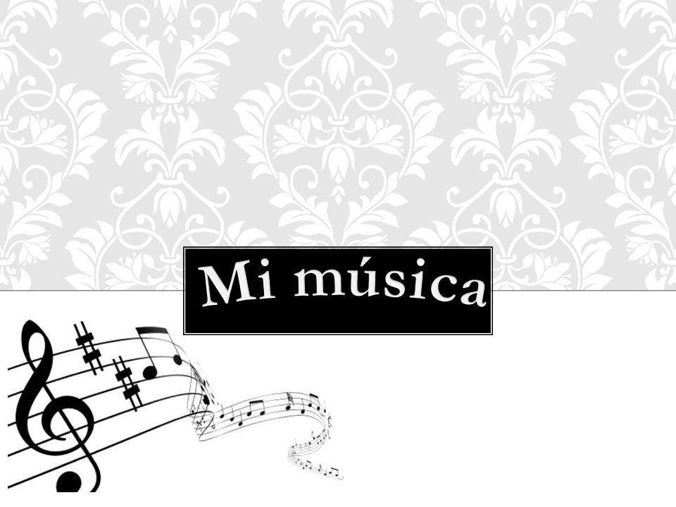 La Música nos transmite sonidos agradables.