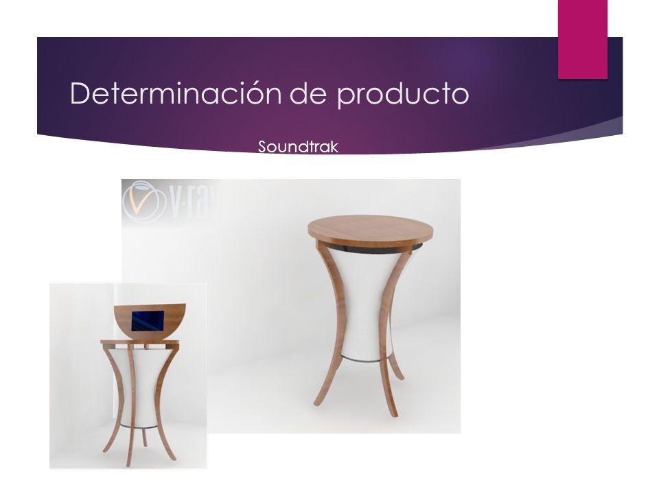 Determinación de producto Soundtrak