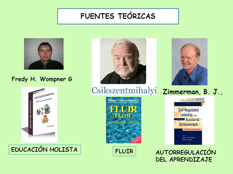 FLUIR Zimmerman, B.J., AUTORREGULACIÓN DEL APRENDIZAJE Fredy H.