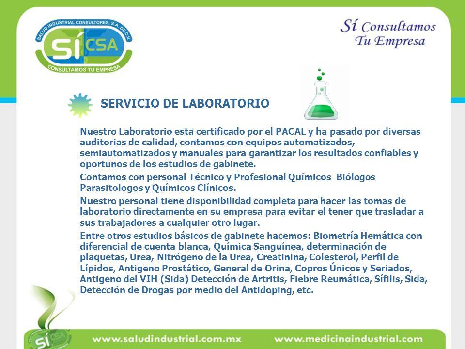 Nuestro Laboratorio esta certificado por el PACAL y ha pasado por diversas auditorias de calidad, contamos con equipos automatizados, semiautomatizado