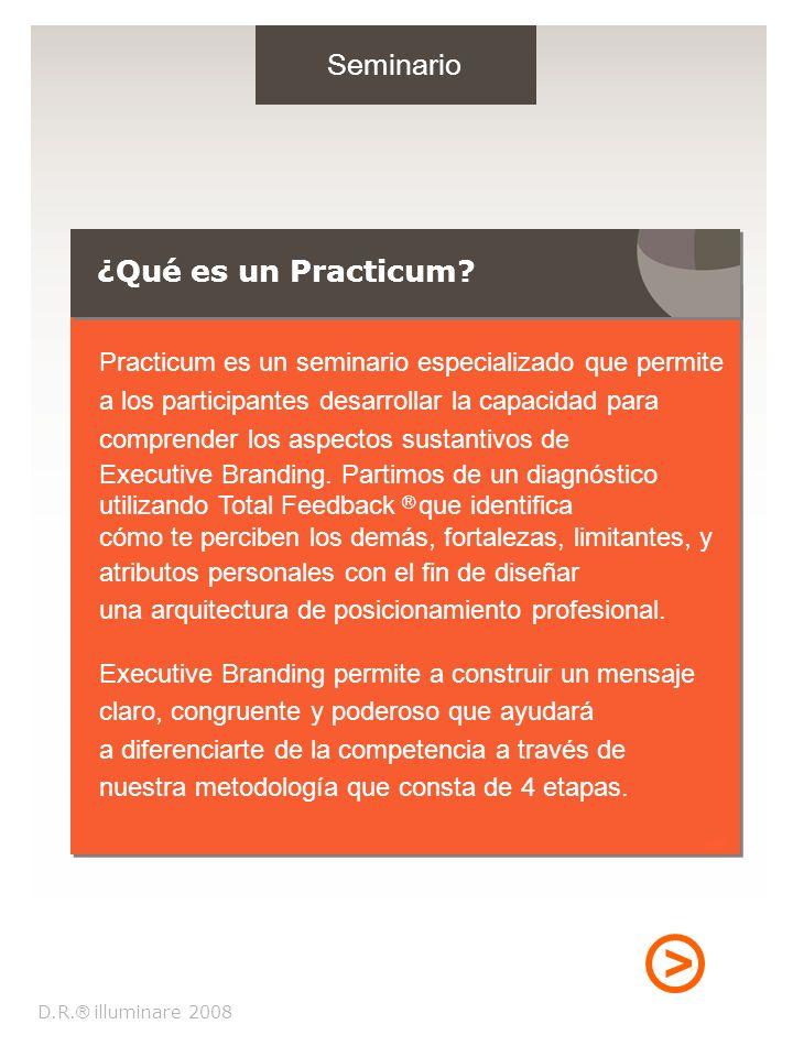 > Seminario ¿Qué es un Practicum. D.R.