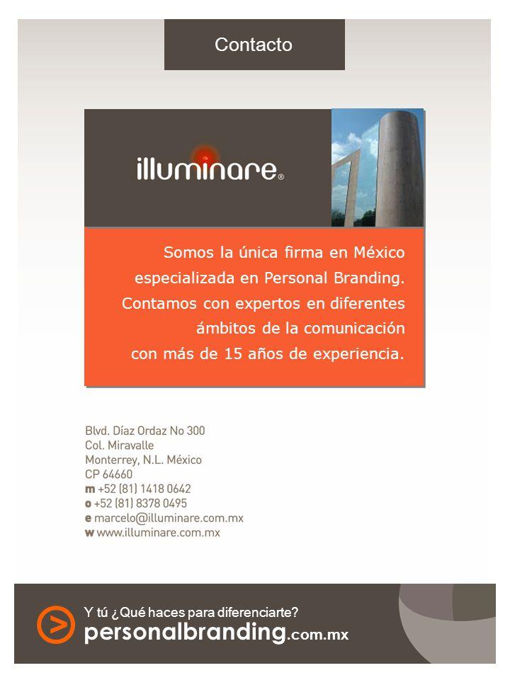 Somos la única firma en México especializada en Personal Branding. Contamos con expertos en diferentes ámbitos de la comunicación con más de 15 años d