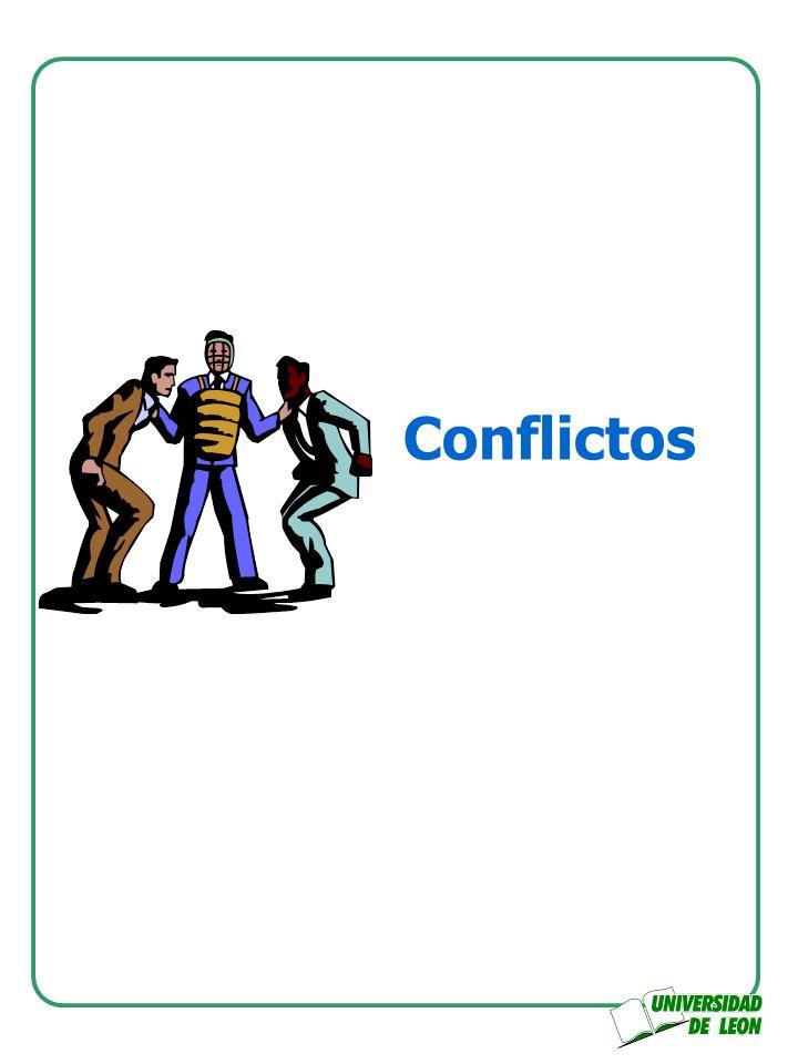 Conflicto Se origina en los equipos cuando uno o varios de los integrantes no concuerdan con el equipo, y es derivado de una falta de visión común.