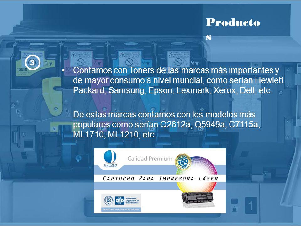 Beneficios Toners con calidad Premium, avalados con certificados ISO 9001 e ISO 14001.