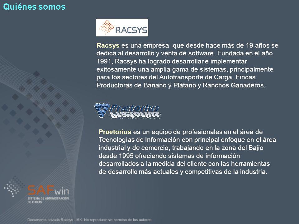 Racsys es una empresa que desde hace más de 19 años se dedica al desarrollo y venta de software. Fundada en el año 1991, Racsys ha logrado desarrollar