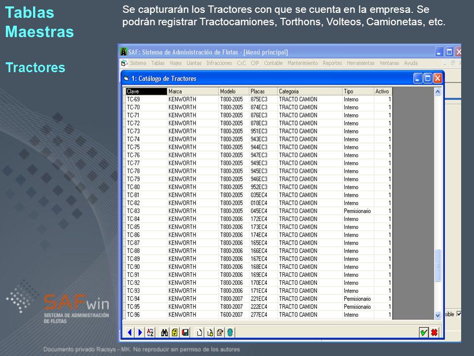 El SafWin cuenta con una gran cantidad de Reportes para cubrir los requerimientos de información para cada uno de los departamentos de la empresa.