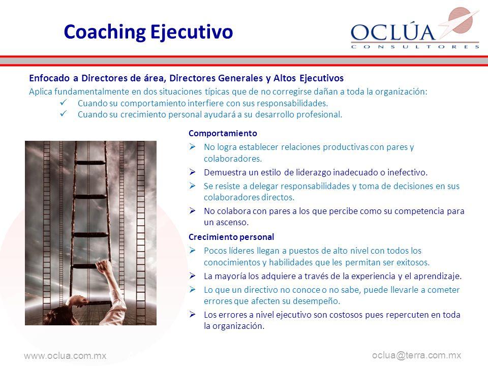 www.oclua.com.mx oclua@terra.com.mx aa AAA Comportamiento No logra establecer relaciones productivas con pares y colaboradores. Demuestra un estilo de