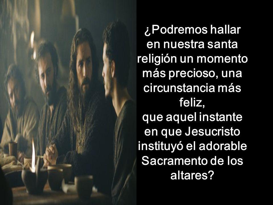 Parte del sermón del Santo Cura de Ars En un jueves Santo Fuente: http://elcuravianney.com/homilia-del-jueves-santo/ Parte del sermón del Santo Cura d