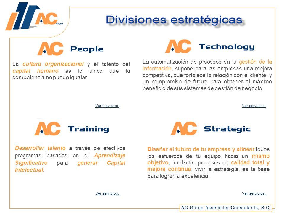 La cultura organizacional y el talento del capital humano es lo único que la competencia no puede igualar.