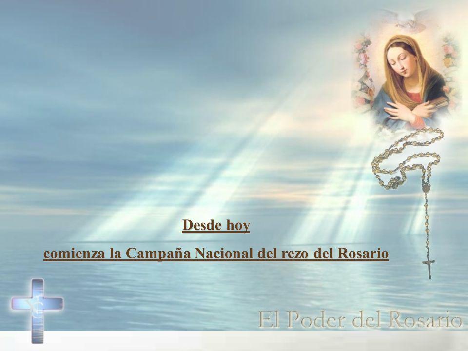 ¿No es tiempo de que recemos el Rosario, por las necesidades de todo el planeta
